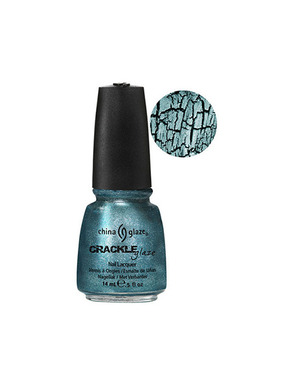 CHINA GLAZE CRACLE GLAZE, ЦВЕТ №80766 OXIDIZED AQUA