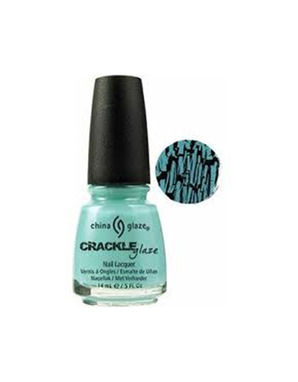 CHINA GLAZE CRACLE GLAZE, ЦВЕТ №81054 СRUSHED СANDY (БИРЮЗОВЫЙ)