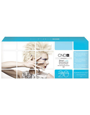 CND BRISA LITE, REMOVABLE GEL SCULPTING PACK