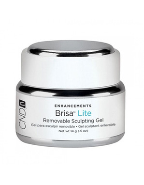 CND BRISA LITE, REMOVABLE SCULPTING GEL CLEAR 14 G
