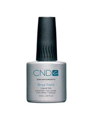 CND BRISA PAINT PURE WHITE 12 ML