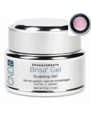 CND BRISA SCULPTING UV GEL COOL PINK OPAQUE 14G