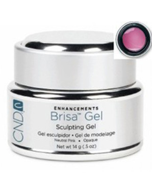 CND BRISA SCULPTING UV GEL NEUTRAL PINK SEMI-SHEER 14G