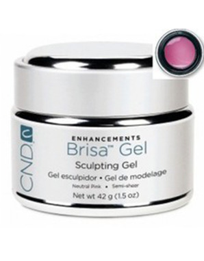 CND BRISA SCULPTING UV GEL NEUTRAL PINK SEMI-SHEER 42 G