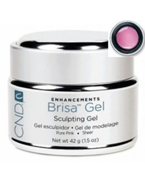 CND BRISA SCULPTING UV GEL PURE PINK CLEAR 42 G