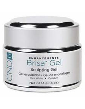 CND BRISA SCULPTING UV GEL PURE WHITE OPAQUE 14 G