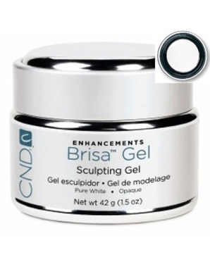 CND BRISA SCULPTING UV GEL PURE WHITE OPAQUE 42 G