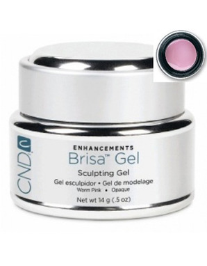 CND BRISA SCULPTING UV GEL WARM PINK SEMI-SHEER 14 G