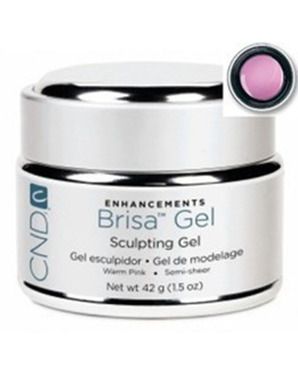 CND BRISA SCULPTING UV GEL WARM PINK SEMI-SHEER 42 G