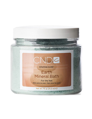 CND EARTH MINERAL BATH 715G
