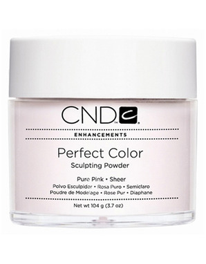 CND PERFECT PURE PINK SHEER 104 G