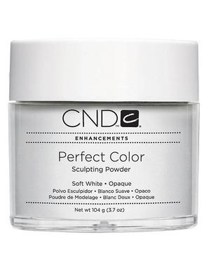 CND PERFECT SOFT WHITE 104 G (НЕЯРКАЯ БЕЛАЯ)