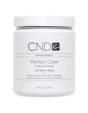 CND PERFECT SOFT WHITE 453 G (НЕЯРКАЯ БЕЛАЯ)