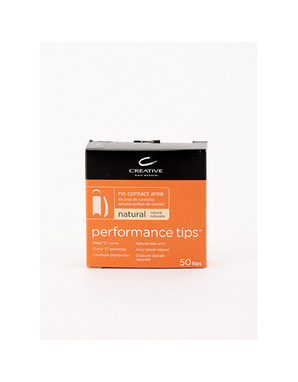 CND, PERFOMANCE TIPS NATURAL #7 50 ШТ.