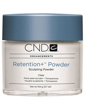 CND RETENTION+ POWDER CLEAR (ПРОЗРАЧНАЯ) 104 G