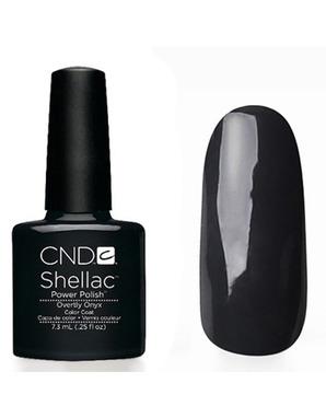 CND SHELLAC, ЦВЕТ OVERTLY ONYX 7.3 ML
