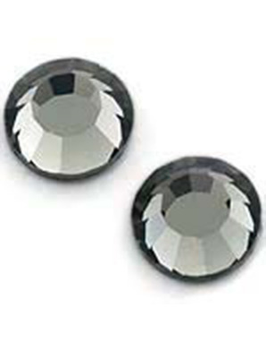 ДИЗАЙН ДЛЯ НОГТЕЙ: СТРАЗЫ SWAROVSKI-BLACK DIAMOND (30 ШТ.)