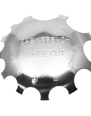 EASY FRENCH SMILE CUTS PINK & WHITE