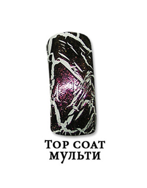 EL CORAZON CRACKLE, TOP COAT (МУЛЬТИ)