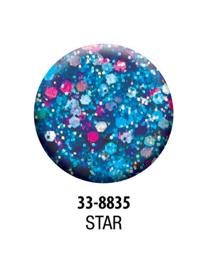 HARMONY REFLECTIONS PRISMS COLLECTION ЦВЕТ STARS (BLUE) 7 GR