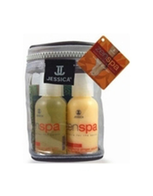 JESSICA, ZENSPA PAMPERED SOUFFLE ENERGIZING GINGER TRAVEL KIT