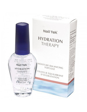 NAIL TEK HYDRATION THERAPY MOISTURE BALANCING TOP COAT 15 ML