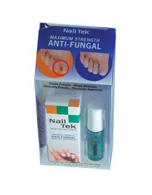 NAIL TEK НАБОР MAXIMUM STRENGTH ANTI-FUNGAL 10 ML & RENEW 10 ML
