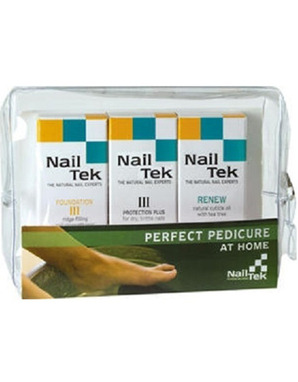 NAIL TEK PEDICURE (FOUNDATION III, INTENSIVE III, RENEW)