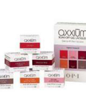 OPI AXXIUM, FASHION FAVES KIT