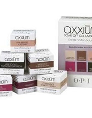 OPI AXXIUM, SOAK-OFF BEAUTIFUL BASICS ADD-ON KIT