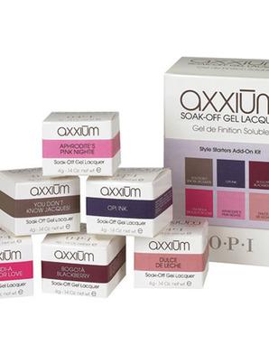 OPI AXXIUM, STYLE STARTERS KIT