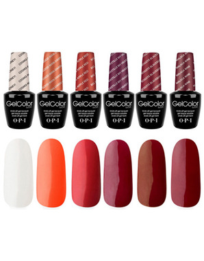 OPI GELCOLOR, THE SIRENS KIT 90 ML