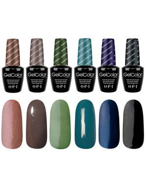 OPI GELCOLOR, THE TRENDSETTERS KIT
