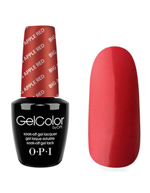 OPI GELCOLOR, ЦВЕТ BIG APPLE RED N25