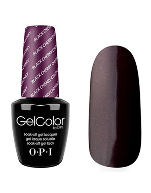 OPI GELCOLOR, ЦВЕТ BLACK CHERRY CHUTNEY