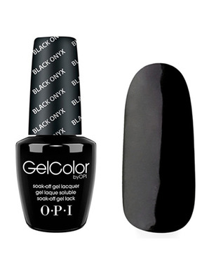 OPI GELCOLOR, ЦВЕТ BLACK ONYX T02