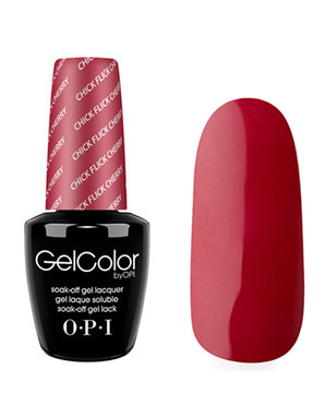 OPI GELCOLOR, ЦВЕТ CHICK FLICK CHERRY