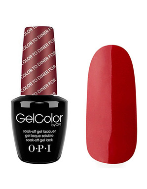 OPI GELCOLOR, ЦВЕТ COLOR TO DINER FOR T25
