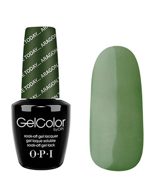 OPI GELCOLOR, ЦВЕТ HERE TODAY ARAGON TOMORROW E48