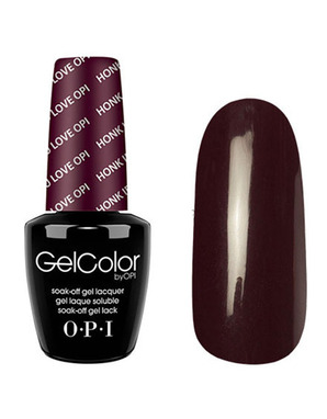 OPI GELCOLOR, ЦВЕТ HONK IF YOU LOVE OPI T28