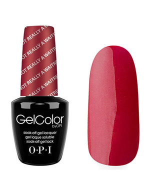 OPI GELCOLOR, ЦВЕТ I'M NOT REALLY A WAITRESS H08
