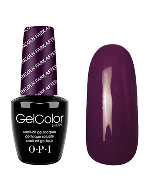 OPI GELCOLOR, ЦВЕТ LINCOLN PARK AFTER DARK W42