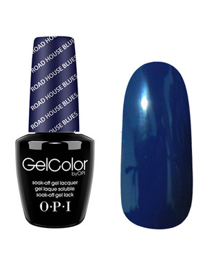 OPI GELCOLOR, ЦВЕТ ROAD HOUSE BLUES T32