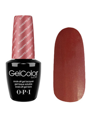 OPI GELCOLOR, ЦВЕТ SCHNAPPS OUT OF IT! GCG22