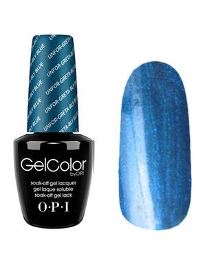 OPI GELCOLOR, ЦВЕТ UNFOR-GRETA-BLY BLUE GCG24