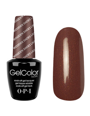 OPI GELCOLOR, ЦВЕТ WOODEN SHOES LIKE TO KNOW? H64