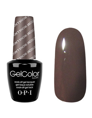 OPI GELCOLOR, ЦВЕТ YOU DON'T KNOW JAQUES! F15