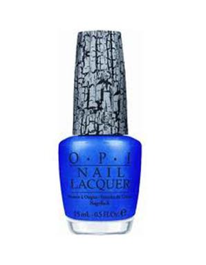 OPI, SHATTER №E56 BLUE (ИСКРЯЩИЙСЯ СИНИЙ)