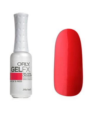 ORLY GEL FX, ЦВЕТ #30052 MONROE'S RED