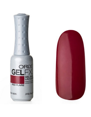 ORLY GEL FX, ЦВЕТ #30076 RED FLARE
